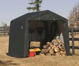 Plachtový přístřešek na dřevo ShelterLogic 3x3m